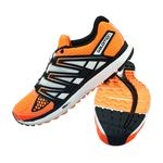 کفش دوی مردانه سالومون - Salomon Shoes X-Scream M Fluoorange/Midnightblue/Whi