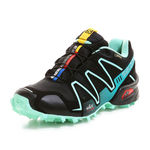 کفش دوی کوهستان زنانه سالومون  - Salomon Shoes Speedcross 3 Gtx W Black/Luctegreen/Tea
