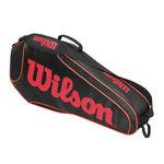 ساک تنیس ویلسون - Wilson Burn Team Triple Bkor