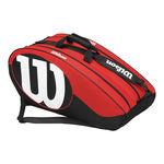 ساک تنیس ویلسون - Wilson Match II 12Pk Bag Bkrd