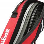 ساک تنیس ویلسون - Wilson Match II 3Pk Bag Bkrd