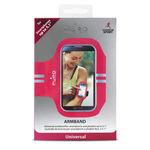 """بازوبند ورزشی گوشی موبایل پورو - Puro Armband for smartphone up to 5.0 """" Pink"""
