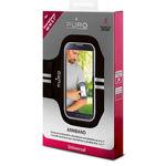 """بازوبند ورزشی گوشی موبایل پورو - Puro Armband for smartphone up to 5.0 """" Black"""