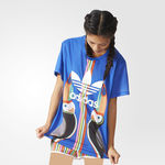 تی شرت ورزشی زنانه آدیداس - Adidas BF Trefoil Tee