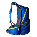 نمای جانبی کوله پشتی 20 لیتری سالومون - Salomon Bag Trail 20 Union Blue/Gecko Green Side View