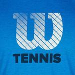 تی شرت تنیس مردانه ویلسون -  Wilson Mens W Tennis Graphic Tech Top