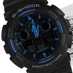 ساعت مردانه جی شاک کاسیو - Casio G-Shock GA-100-1A2 Men's Watch