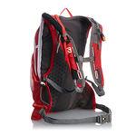 نمای جانبی کوله پشتی 12 لیتری سالومون - Salomon Bag Agile 12 Set Bright Red/White Side View
