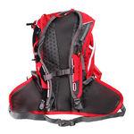 نمای پشت کوله پشتی 12 لیتری سالومون - Salomon Bag Agile 12 Set Bright Red/White Back View