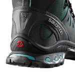 بوت کوهنوردی زنانه سالومون - Salomon Shoes Quest 4D 2 GTX W Asphalt/Greenblack/Haz