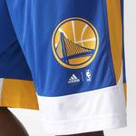 شورت تیم بسکتبال گلدن استیت واریرز آدیداس - Adidas Men Basketball Warriors Shorts