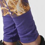 شلوار استرچ ورزشی زنانه آدیداس - Adidas Super-Long Allover Print Tights