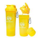 شیکر 500 میلی لیتری رنگ زرد اسمارت شیک - Smart Shake Slim Bottle Yellow 500ml