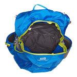 نمای بالای کوله پشتی 20 لیتری سالومون - Salomon Bag Trail 20 Union Blue/Gecko Green Up View