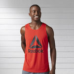 رکابی ورزشی مردانه ریباک - Reebok Workout Ready Supremium 2.0 Graphic Men Training Tank