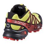 کفش دوی کوهستان مردانه سالومون - Salomon shoes Speedcross 3 M Coronayellow/Black/Rad