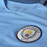 تی شرت فصل 17-2016 باشگاه منچسترسیتی - Nike 2016-17 Manchester City FC Stadium Home Men's Soccer Shirt