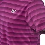 تی شرت مردانه امبر ویلسون - Wilson M SP Ombre Crew WH/Pearl Gray
