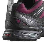 کفش طبیعت گردی زنانه سالومون - Salomon Shoes X Ultra Ltr W Bordeaux/Asphalt/Ste