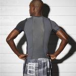 تی شرت استرچ ورزشی مردانه ریباک - Reebok Combat Short Sleeve Rash Guard