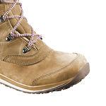 نمای نزدیک بوت روزمره سالومون - Salomon Shoes Hime Mid Ltr Cswp Beige Ltr/Beige