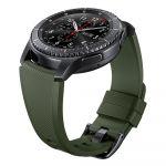بند سیلیکونی ساعت گیر اس 3 سامسونگ - Samsung Gear S3 Active Silicone Band Green