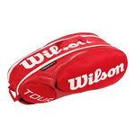 نمای سه بعدی ساک تنیس ویلسون - Wilson Tour Molded 2.0 9Pk Bag Rd