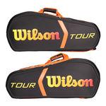 ساک تنیس ویلسون - Wilson Burn Molded 15Pk Bag Bkor