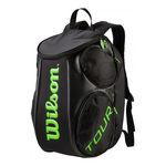 نمای سه بعدی کوله پشتی تنیس ویلسون - Wilson Tour Molded Lg Backpack Bkli