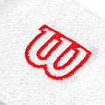 نمای نزدیک مچ بند ویلسون - Wilson W Wristband Wh