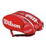 نمای سه بعدی ساک تنیس ویلسون - Wilson Tour Molded 2.0 15Pk Bag Rd