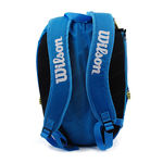 نمای پشت کوله پشتی تنیس ویلسون - Wilson Tour Molded Lg Backpack J