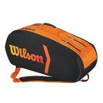 ساک تنیس ویلسون - Wilson Burn Molded 9Pk Bag Bkor