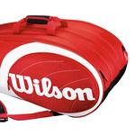 نمای سه بعدی ساک تنیس ویلسون - Wilson Team 12Pk Bag Rdwh