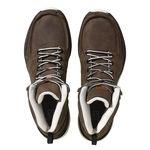 نمای بالا بوت روزمره مردانه سالومون - Salomon Shoes Utility M Brownltr/Bisonltr/Lig