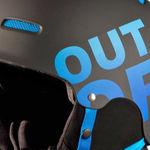 هلمت اسکی اوت آو - Out of WIPEOUT Black/Blue
