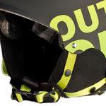 هلمت اسکی اوت آو - Out of WIPEOUT Black/Green