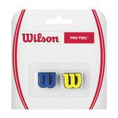 ضربه گیر راکت تنیس ویلسون - Wilson Pro Feel Vibration Dampeners Blue/Yellow