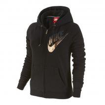 سوئت شرت ورزشی زنانه نایک - Nike Rally FZ Hoody-Metal