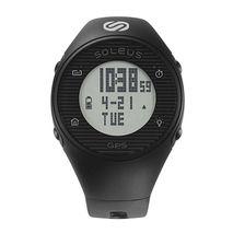 ساعت جی پی اس وان مشکی/طوسی سولئوس - Soleus GPS One Watch Black/Grey