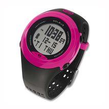 ساعت جی پی اس سول مشکی/صورتی سولئوس - Soleus GPS Sole HRM Watch Black/Pink