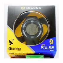 ساعت پالس بلوتوث دار مشکی/سفید سولئوس - Soleus Pulse Ble HRM Watch Black/White