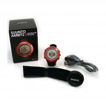 ساعت سونتو امبیت 2 اس اچ آر - Suunto Ambit2 S Red HR