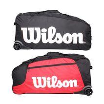 ساک مسافرتی ویلسون - Wilson Wheeled Travel Duffel Bk/Rd