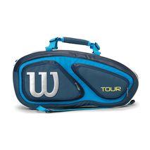 ساک تنیس ویلسون - Wilson Tour V 9 Pack Blue