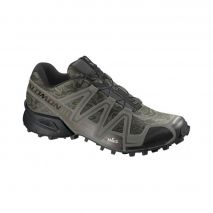 کفش دوی کوهستان مردانه سالومون - Salomon Shoes Speedcross 3 M Camo Titanium/Dark Titanium/Swamp
