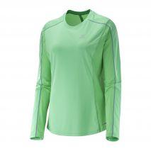 پیراهن ورزشی زنانه سالومون - Salomon Agile Ls Tee W Jasmine Green