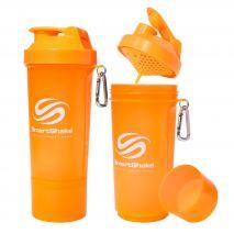 شیکر 500 میلی لیتری رنگ نارنجی اسمارت شیک - Smart Shake Slim Bottle Orange 500ml