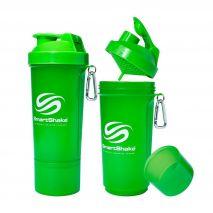 شیکر 500 میلی لیتری رنگ سبز اسمارت شیک - Smart Shake Slim Bottle Green 500ml