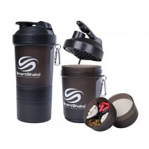 شیکر 600 میلی لیتری رنگ قهوه ای اسمارت شیک - Smart Shake Original Bottle GunSmoke 600ml